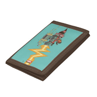 Guardians of the Galaxy | Rocket Full Blast Tri-fold Wallets