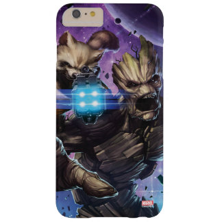 Guardians of the Galaxy | Rocket & Groot Attack Barely There iPhone 6 Plus Case