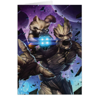 Guardians of the Galaxy | Rocket & Groot Attack Card