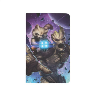 Guardians of the Galaxy | Rocket & Groot Attack Journal
