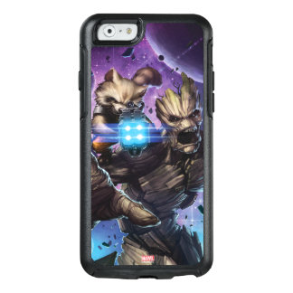 Guardians of the Galaxy | Rocket & Groot Attack OtterBox iPhone 6/6s Case