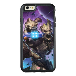 Guardians of the Galaxy | Rocket & Groot Attack OtterBox iPhone 6/6s Plus Case