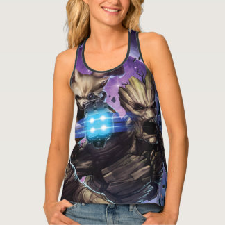 Guardians of the Galaxy | Rocket & Groot Attack Singlet