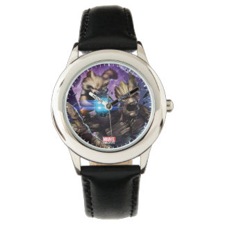Guardians of the Galaxy | Rocket & Groot Attack Watch