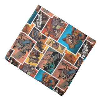 Guardians of the Galaxy | Rocket & Groot Collage Bandana