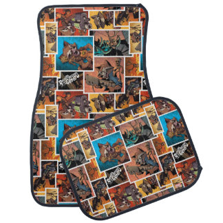 Guardians of the Galaxy | Rocket & Groot Collage Car Mat