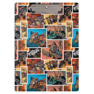 Guardians of the Galaxy | Rocket & Groot Collage Clipboard