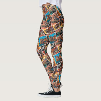 Guardians of the Galaxy | Rocket & Groot Collage Leggings