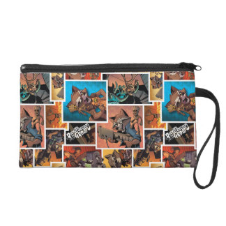 Guardians of the Galaxy   Rocket & Groot Collage Wristlet