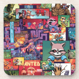 Guardians of the Galaxy | Rocket & Groot Pattern Coaster