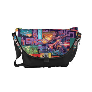 Guardians of the Galaxy | Rocket & Groot Pattern Messenger Bags