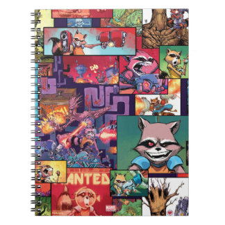 Guardians of the Galaxy | Rocket & Groot Pattern Notebook