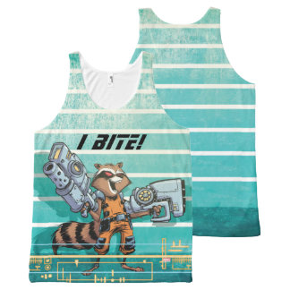 Guardians of the Galaxy | Rocket Mugshot All-Over Print Singlet