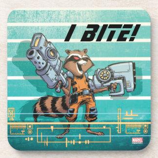 Guardians of the Galaxy | Rocket Mugshot Coaster