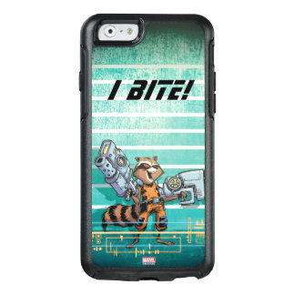 Guardians of the Galaxy | Rocket Mugshot OtterBox iPhone 6/6s Case