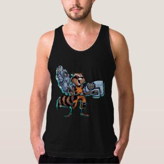 Guardians of the Galaxy | Rocket Mugshot Singlet