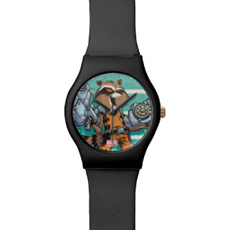 Guardians of the Galaxy | Rocket Mugshot Watch