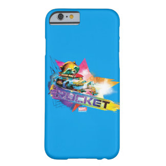 Guardians of the Galaxy | Rocket Neon Graphic Barely There iPhone 6 Case