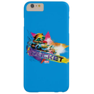 Guardians of the Galaxy | Rocket Neon Graphic Barely There iPhone 6 Plus Case