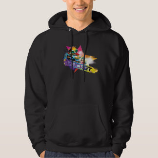 Guardians of the Galaxy | Rocket Neon Graphic Hoodie
