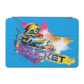 Guardians of the Galaxy | Rocket Neon Graphic iPad Mini Cover