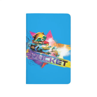 Guardians of the Galaxy | Rocket Neon Graphic Journal