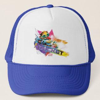 Guardians of the Galaxy | Rocket Neon Graphic Trucker Hat