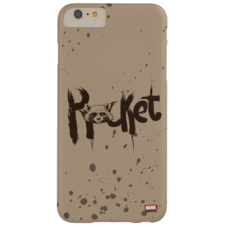 Guardians of the Galaxy | Rocket Painted Name Barely There iPhone 6 Plus Case