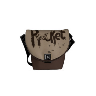 Guardians of the Galaxy | Rocket Painted Name Commuter Bags