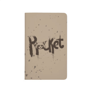 Guardians of the Galaxy | Rocket Painted Name Journal