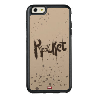 Guardians of the Galaxy | Rocket Painted Name OtterBox iPhone 6/6s Plus Case