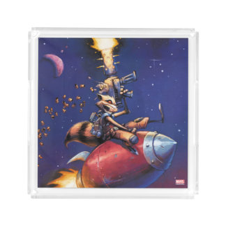 Guardians of the Galaxy | Rocket Riding Missile Acrylic Tray