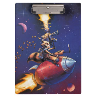 Guardians of the Galaxy | Rocket Riding Missile Clipboard