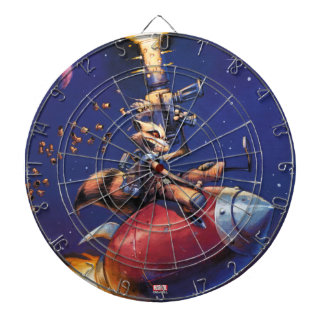 Guardians of the Galaxy | Rocket Riding Missile Dartboard