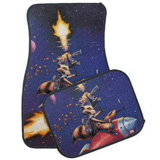Guardians of the Galaxy | Rocket Riding Missile Floor Mat