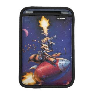 Guardians of the Galaxy   Rocket Riding Missile iPad Mini Sleeve