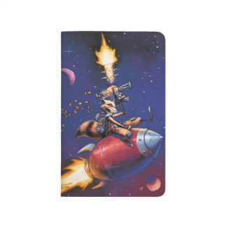 Guardians of the Galaxy | Rocket Riding Missile Journal