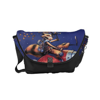 Guardians of the Galaxy | Rocket Riding Missile Messenger Bag