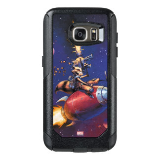 Guardians of the Galaxy | Rocket Riding Missile OtterBox Samsung Galaxy S7 Case