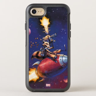 Guardians of the Galaxy | Rocket Riding Missile OtterBox Symmetry iPhone 8/7 Case