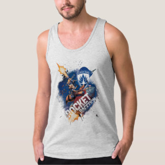 Guardians of the Galaxy | Rocket Riding Missile Singlet