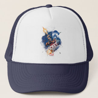 Guardians of the Galaxy | Rocket Riding Missile Trucker Hat
