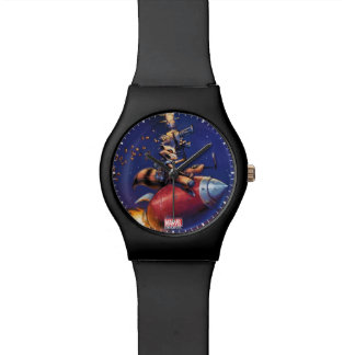 Guardians of the Galaxy   Rocket Riding Missile Watch