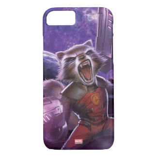 Guardians of the Galaxy | Rocket With Guns iPhone 8/7 Case