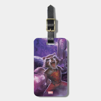 Guardians of the Galaxy | Rocket With Guns Luggage Tag