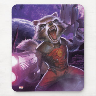 Guardians of the Galaxy | Rocket With Guns Mouse Pad