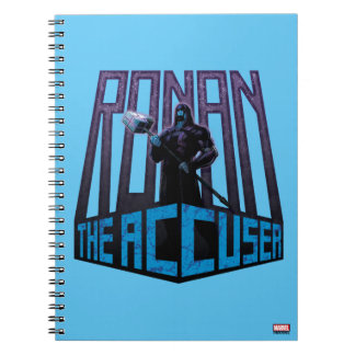 Guardians of the Galaxy | Ronan The Accuser Notebook