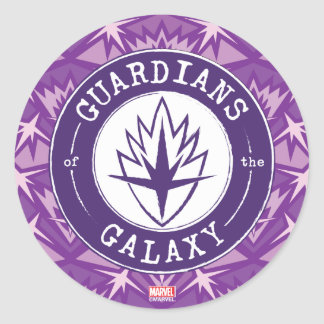 Guardians of the Galaxy | Round Vintage Logo Classic Round Sticker