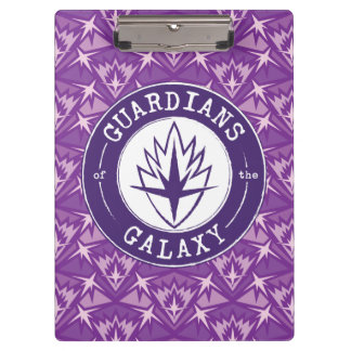 Guardians of the Galaxy | Round Vintage Logo Clipboard
