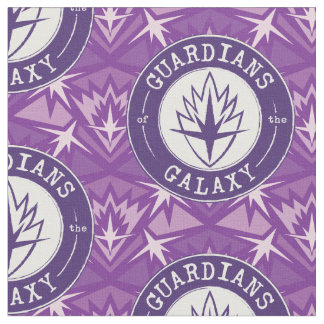 Guardians of the Galaxy | Round Vintage Logo Fabric